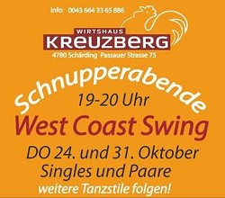 Kreuzberg West Coast Swing 24. und 31.10